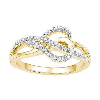 1/6Ctw Diamond Fashion Ring - White