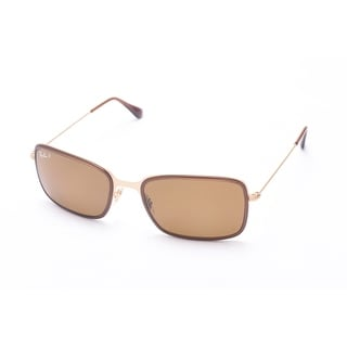 Ray-Ban Modern Sunglasses Gold/Brown - Small