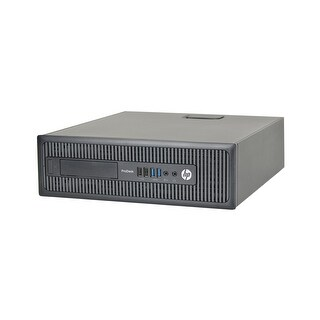 HP ProDesk 600 G1 Core i5-4570 3.2GHz 8GB RAM 500GB HDD Win 10 Pro SFF PC (Refurbished)