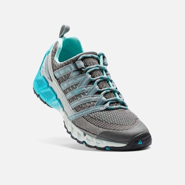 Keen Versago Women's Running Shoe, Neutral Gray/Radiance - neutral gray/radiance