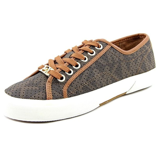 Michael Michael Kors Boerum Sneaker Women Round Toe Synthetic Brown Sneakers