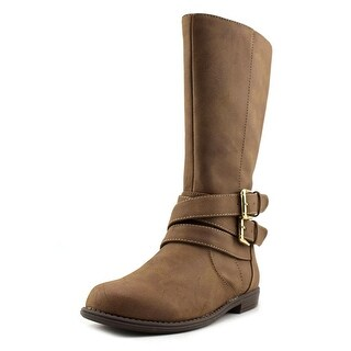 Kenneth Cole Reaction Pippa Rider Youth Round Toe Synthetic Brown Boot