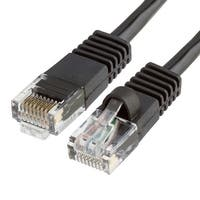 Cat5e Ethernet Network Patch Cable 350 MHz RJ45 - 1.5 Feet Black