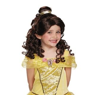 Girls Classic Disney Princess Belle Wig