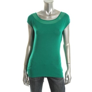 Vince Camuto Womens Racerback Sleeveless Pullover Top - S