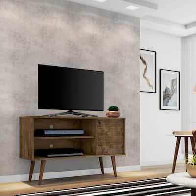 Mid-century Modern Liberty 2-shelf TV Stand