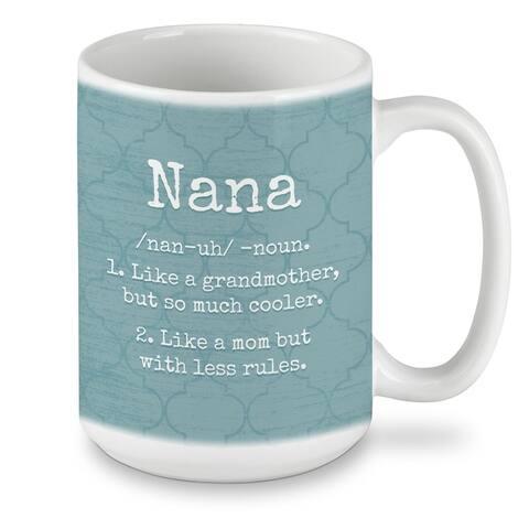 Ceramic Mug - Nana 15 oz - 4.5x4.5x3.28