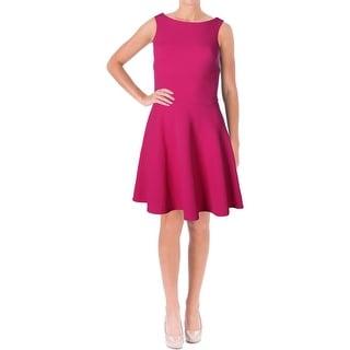 Aqua Womens Juniors Textured Mini Cocktail Dress - S