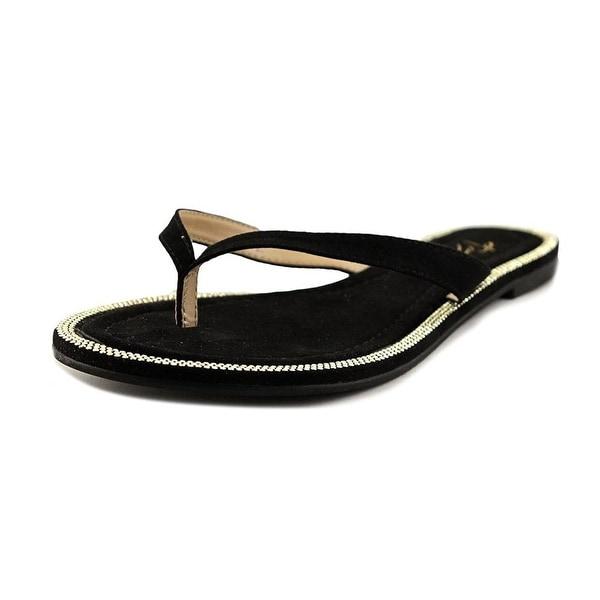 Thalia Sodi Beda Open Toe Synthetic Thong Sandal - 7.5