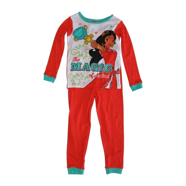 b5694387fe Shop Disney Girls Coral Princess Elena of Avalor 2 Pcs Long Sleeve Pajama -  Free Shipping On Orders Over $45 - Overstock - 18170860