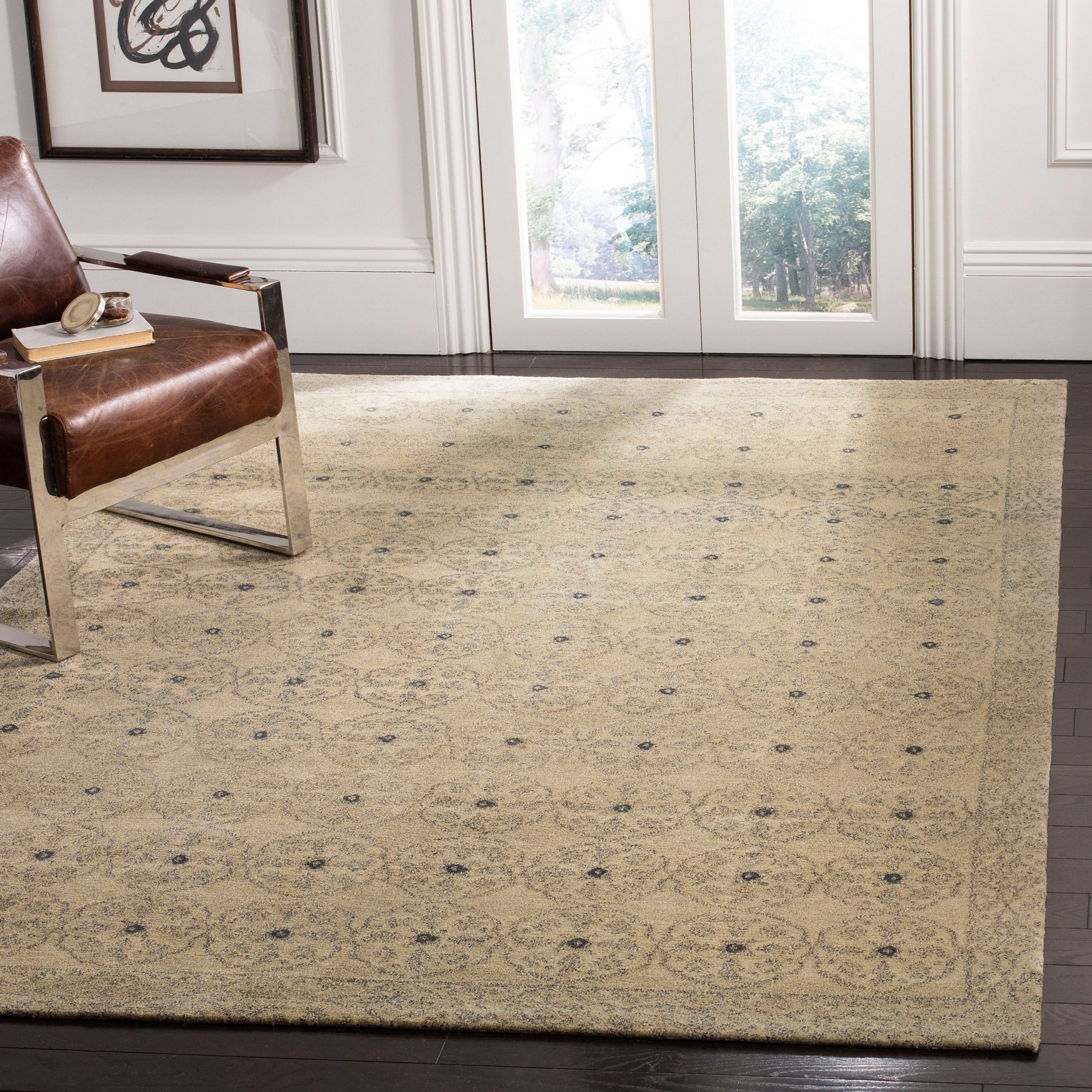 Hand Knotted Mirena Silk Wool Rug
