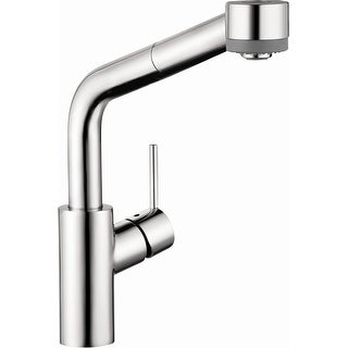 Hansgrohe 04247  Talis S Pull-Down Kitchen Faucet with High-Arc Spout & Locking Spray Diverter