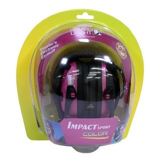 Howard leight r-02523 howard leight r-02523 impact sport pink electronic earmuff