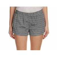 Joie NEW Black Women's Size Large L Elowen Geo Print Soft Shorts