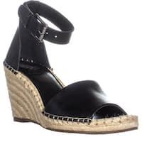Vince Camuto Leera Espadrille Wedge Sandals, Black