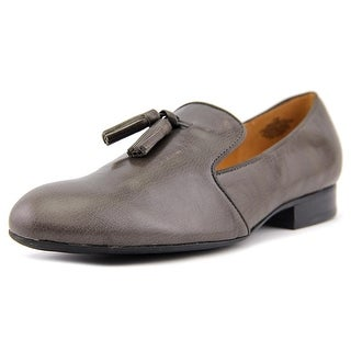 Nine West Ciaobella Women Round Toe Leather Gray Loafer