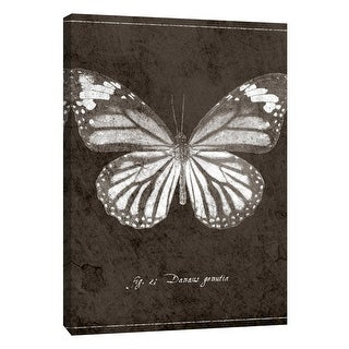 """PTM Images 9-108432  PTM Canvas Collection 10"""" x 8"""" - """"Butterfly G"""" Giclee Butterflies Art Print on Canvas"""