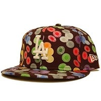 low priced 53c96 6b2a5 New Era Custom Los Angeles Dodgers Fitted Hat - 7 1 4