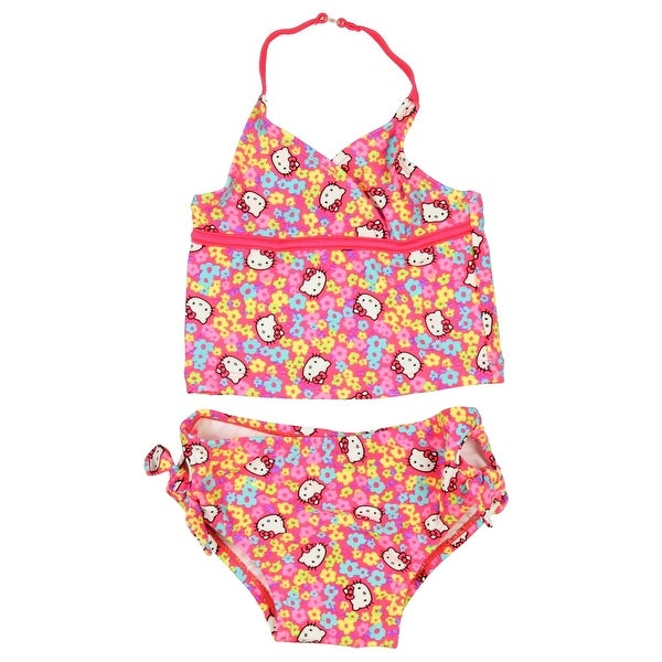 107f883113 Shop Hello Kitty Tankini Set Little Girls Toddler Swimsuit - On Sale - Free  Shipping On Orders Over $45 - Overstock - 16566873