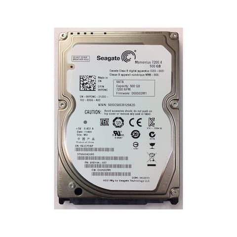 "Seagate Momentus 7200.4 500GB SATA/300 7200RPM 16MB 2.5"" Hard Drive (Certified Refurbished)"