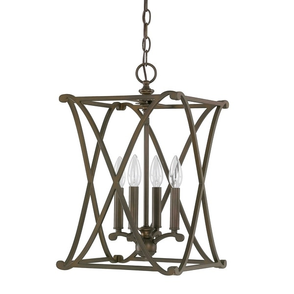 """Donny Osmond Home 9691 4-Light 11.75"""" Wide Pendant from the Alexander Collection"""