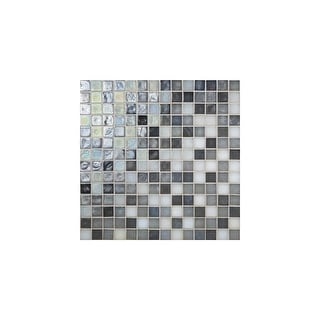 "Daltile GH3434PMP  Glass Horizons - 3/4"" x 3/4"" Square Mosaic Wall Tile - Smooth Glass Visual"