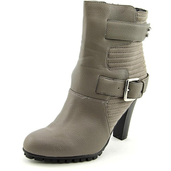 Bar III Valerie Round Toe Synthetic Ankle Boot