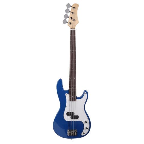 """45"""" Exquisite Burning Fire Style Electric Bass Guitar 6 Colors"""