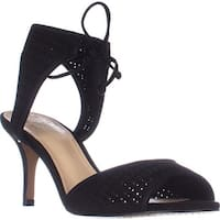 Vince Camuto Kanara Tie Up Dress Sandals, Black
