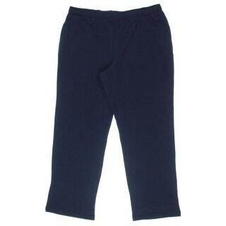 Karen Scott Womens Fleece Lined Athletic Sweatpants