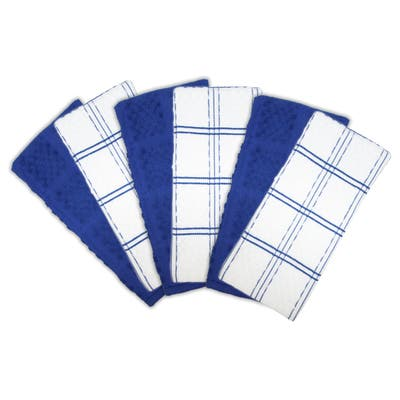 Arkwright Kitchen Towels Checkered Design (6-Pack) - 15 x 25 in.