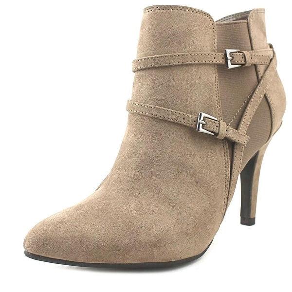 Style & Co Zoey Women Round Toe Suede Brown Boot