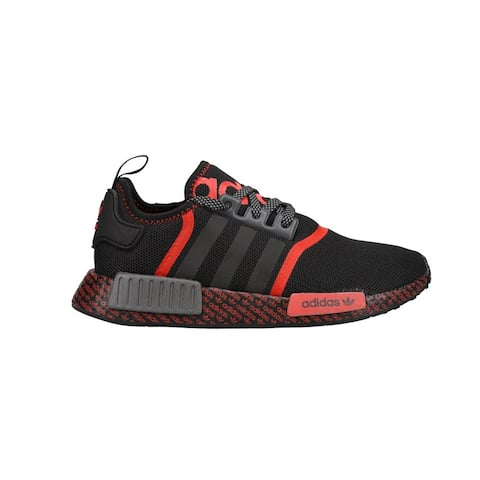 adidas Nmd_R1 Kids Boys Sneakers Shoes Casual - Black,Red