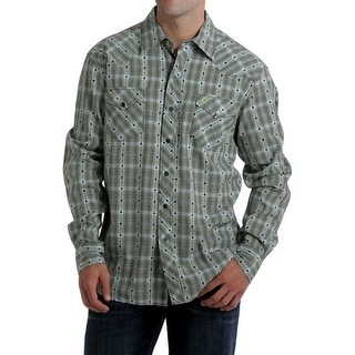 Cinch Western Shirt Mens Long Sleeve Plaid Sevens Multi HTW4000007