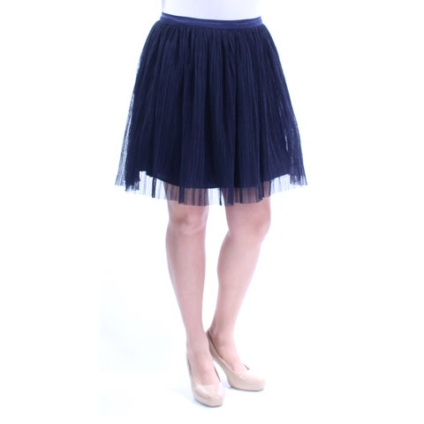 Womens Navy Casual Skirt Size 13