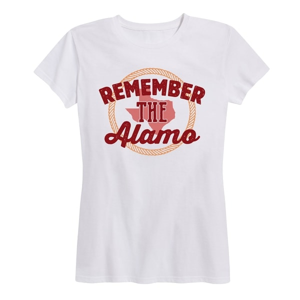 76c9bef13d87 Shop Remember The Alamo - Ladies Short Sleeve Classic Fit Tee - Free  Shipping On Orders Over $45 - Overstock - 25453646