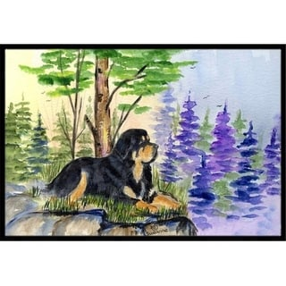 Carolines Treasures SS8007JMAT 24 x 36 in. Tibetan Mastiff Indoor Or Outdoor Doormat
