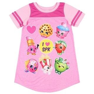 Shopkins Lovin' SPK Nightgown Big Girls Character Graphic Pajama