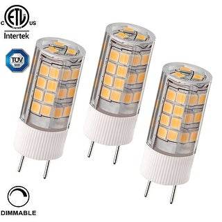 1 PACK/3 PACK 3.5W Dimmable G8 LED Light Bulb, 40W Bi-Pin Xenon JCD Type Halogen Replacement, 350lm, 2700K Soft White