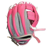 Rawlings PL85PSM Player Series 9 Pink RHT Baseball Glove - Pink/Silver