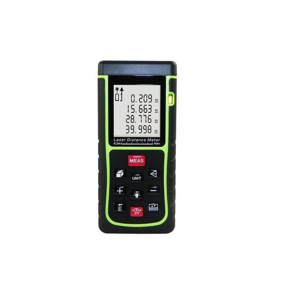 AGPtek Digital Laser Distance Measure Distance Estimator Measuring Range 40m (131ft)