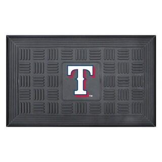 Texas Rangers Medallion Door Mat