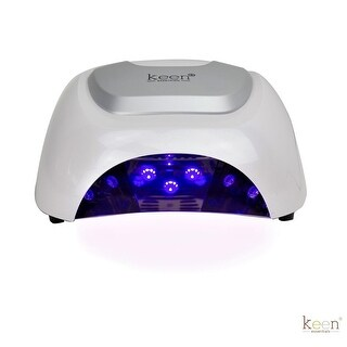 Link to LUMI Professional 48 W LED Nail Dryer Lamp (WHITE) - N/A Similar Items in Nail Care
