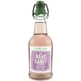 Bang Candy Lavender Mint Flavored Simple Syrup Drink Mix, 12 oz Bottle