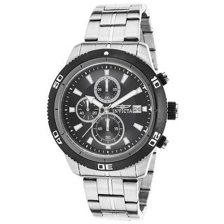 Invicta Specialty Chronograph Black Dial Men's Watch (17439)