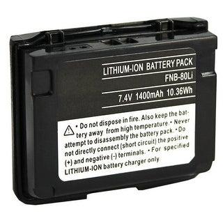 Battery for Yaesu FNB-80 (Single Pack) Two-Way Radio Battery