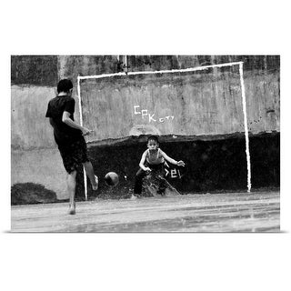 RTB Photography Poster Print entitled Penalty - multi-color