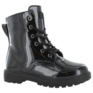 Gotta Flurt Girls' Luna G Boot Black Patent Pu/Black