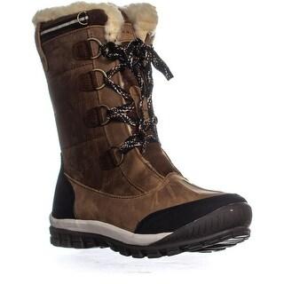Bearpaw Desdemona Mid Calf Lined Winter Boots, Hickory II
