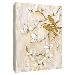 "PTM Images 9-148512  PTM Canvas Collection 10"" x 8"" - ""Song of Spring II"" Giclee Birds Art Print on Canvas"